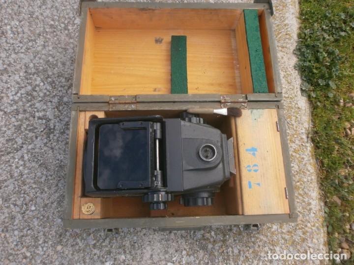 Militaria: Pieza única en el mercado visor para cañon 40/70 Bimador - Fabricado por ENOSA caja madera original - Foto 6 - 27577233