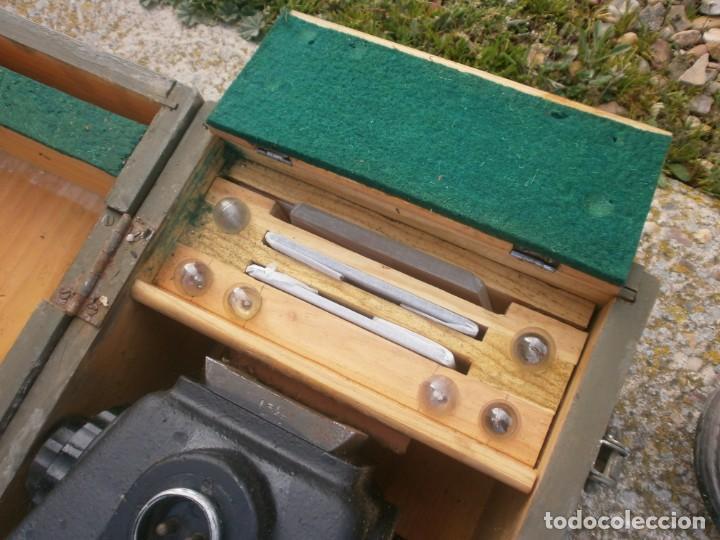 Militaria: Pieza única en el mercado visor para cañon 40/70 Bimador - Fabricado por ENOSA caja madera original - Foto 7 - 27577233