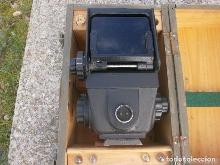 Militaria: Pieza única en el mercado visor para cañon 40/70 Bimador - Fabricado por ENOSA caja madera original - Foto 8 - 27577233