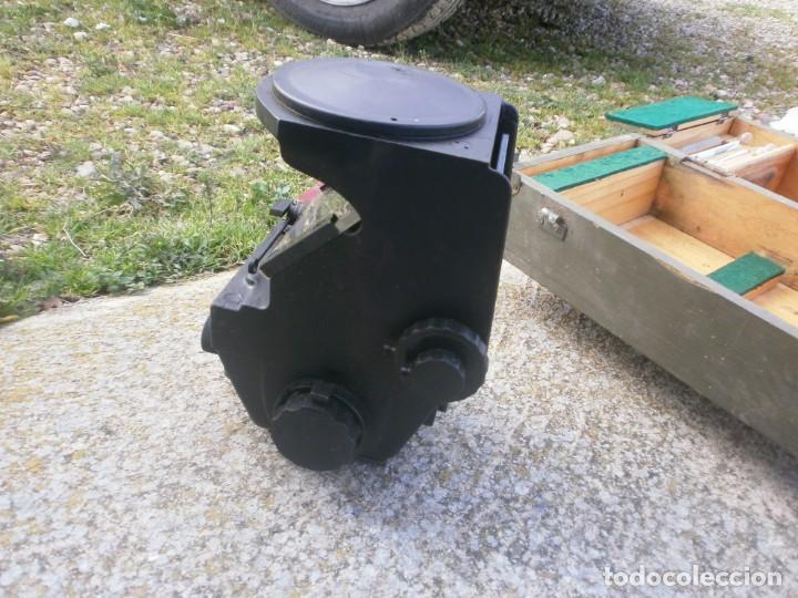 Militaria: Pieza única en el mercado visor para cañon 40/70 Bimador - Fabricado por ENOSA caja madera original - Foto 10 - 27577233