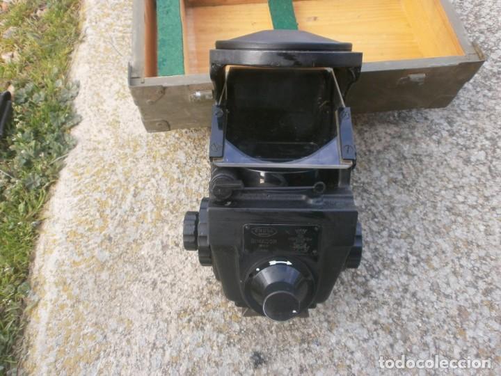 Militaria: Pieza única en el mercado visor para cañon 40/70 Bimador - Fabricado por ENOSA caja madera original - Foto 12 - 27577233