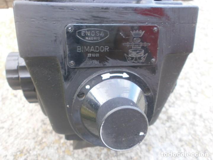 Militaria: Pieza única en el mercado visor para cañon 40/70 Bimador - Fabricado por ENOSA caja madera original - Foto 13 - 27577233
