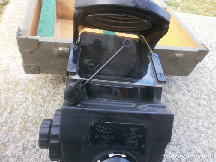 Militaria: Pieza única en el mercado visor para cañon 40/70 Bimador - Fabricado por ENOSA caja madera original - Foto 14 - 27577233