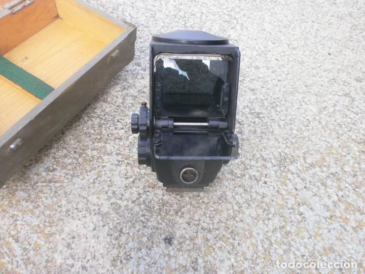 Militaria: Pieza única en el mercado visor para cañon 40/70 Bimador - Fabricado por ENOSA caja madera original - Foto 15 - 27577233