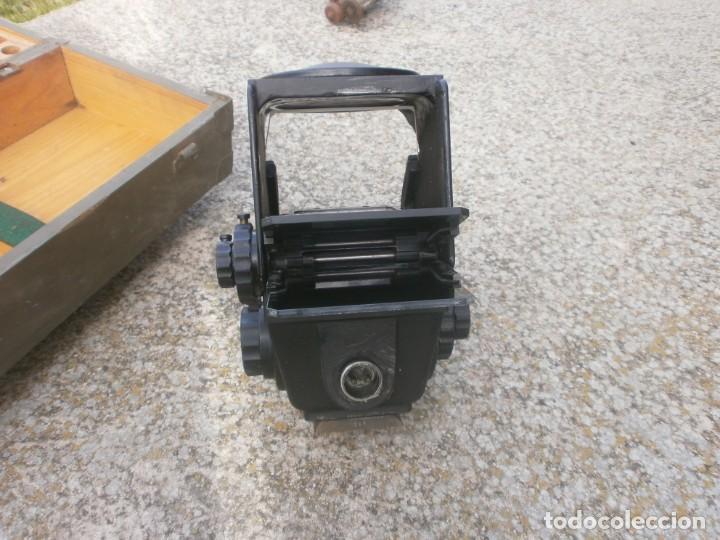Militaria: Pieza única en el mercado visor para cañon 40/70 Bimador - Fabricado por ENOSA caja madera original - Foto 17 - 27577233