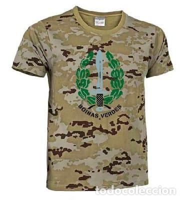 CAMISETA OPERACIONES ESPECIALES (Militar - Equipamiento de Campaña)