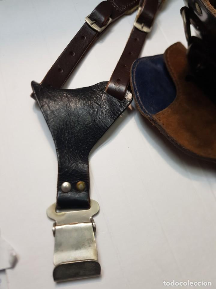 Militaria: Conjunto de Fundas Militares con Cinturon Sobaquero - Foto 6 - 247486605