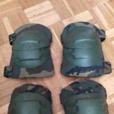 Militaria: CODERAS Y RODILLERAS INDUYCO WOODLAND. Lote 251651485