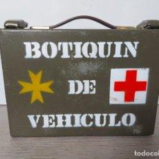 Militaria: ANTIGUO BOTIQUÍN MÉDICO DE VEHICULO MILITAR DEL EJERCITO ESPAÑOL - AÑOS 70 - SANIDAD - CAMPAÑA. Lote 252554210