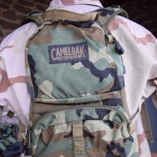 Militaria: CAMELBAK MULE OLD GEN EN WOODLAND NAVY SEAL RANGER USMC MARINES US ARMY. Lote 253031210
