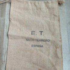 Militaria: SACO TERRERO EJERCITO DE TIERRA ESPAÑOL. Lote 253616930
