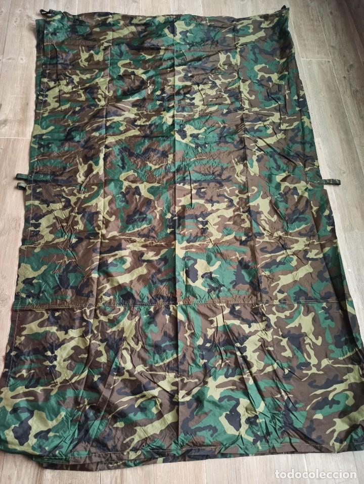 TECHO VIVAC BOSCOSO WOODLAND 2,40×1,90CM NUEVO (Militar - Equipamiento de Campaña)