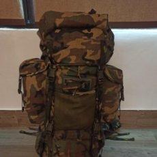 Militaria: MOCHILA MILITAR DE CAMPAÑA ALTUS CAMUFLAJE BOSCOSO WOODLAND 100L NUEVA. Lote 254679540