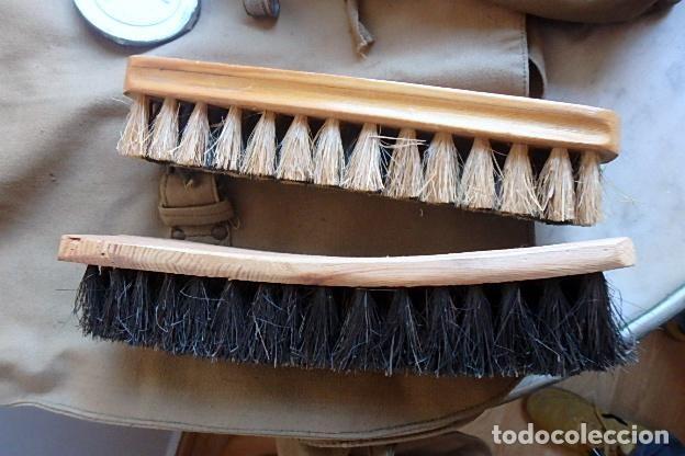 Militaria: (XJ-210406)Mochila, bolsa de costado y útiles de cocina y aseo de soldado Campañas de África. - Foto 21 - 255950200