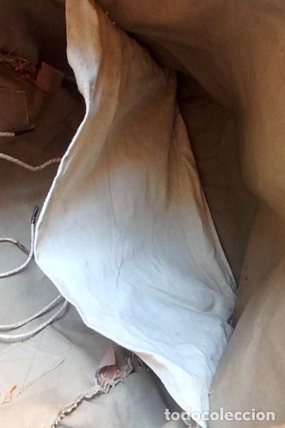Militaria: (XJ-210406)Mochila, bolsa de costado y útiles de cocina y aseo de soldado Campañas de África. - Foto 42 - 255950200