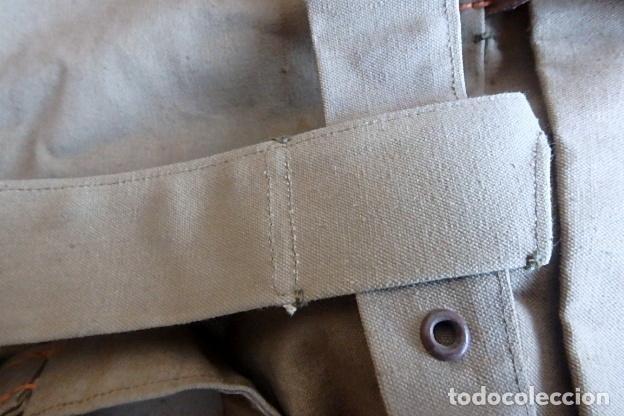 Militaria: (XJ-210406)Mochila, bolsa de costado y útiles de cocina y aseo de soldado Campañas de África. - Foto 44 - 255950200