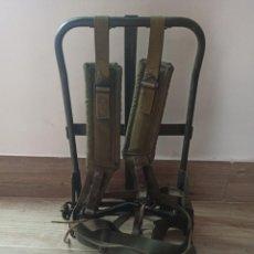 Militaria: SOPORTE ARNÉS PORTAR RADIO MOCHILA PARA RADIO AN/PRC AN PRC 77. Lote 258088625