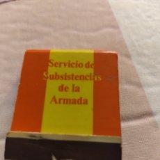 Militaria: CAJA DE CERILLAS INFANTERÍA DE MARINA. Lote 263211955