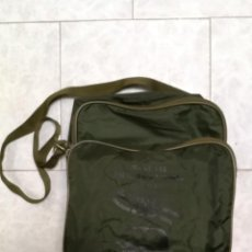 Militaria: BOLSA BANDOLERA DEL DIA DE LAS FUERZAS ARMADAS 1985. Lote 266759923