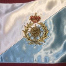 Militaria: BANDERÍN O GUIÓN DE INTENDENCIA BORDADO SOBRE RASO O SEDA MEDIDAS 29 CM X 19 CM. Lote 266931589