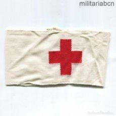 Militaria: BRAZALETE DE LA CRUZ ROJA ALEMANA. DEUTSCHES ROTES KREUZ. 2ª GUERRA MUNDIAL. BORDADO Y MARCADO. Lote 267762619