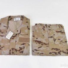 Militaria: UNIFORME CAMPAÑA ARIDO PIXELADO (TALLA 3L). Lote 269229258