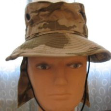 Militaria: GORRO MILITAR DESERT CON NUQUERA. Lote 269257708