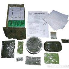 Militaria: RACIONES DE COMBATE ORIGINALES DEL EJERCITO ESPAÑOL / MRE SUPERVIVENCIA PREPPER. Lote 269841808