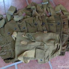 Militaria: 10 BOLSOS DE MASCARA DE GAS - RUSO URSS, TELA 100 % ORIGINAL- NO USADAS -. Lote 270170928