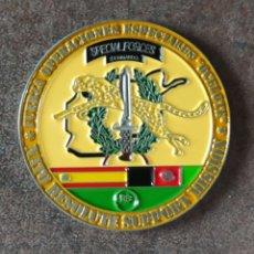 Militaria: MONEDA MISIÓN AFGANISTÁN OPERACIONES ESPECIALES. Lote 270275258