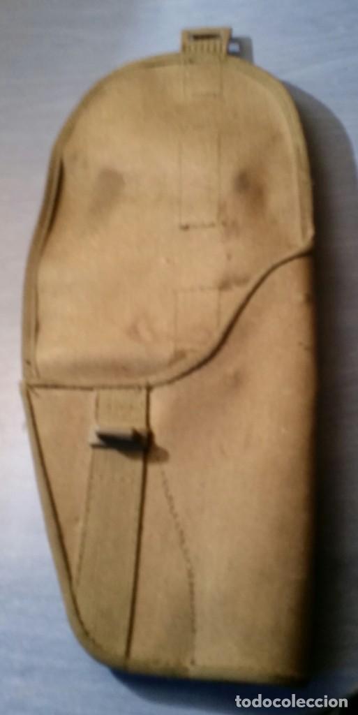 Militaria: Funda de pistola M-82. Años 80. - Foto 3 - 276911413