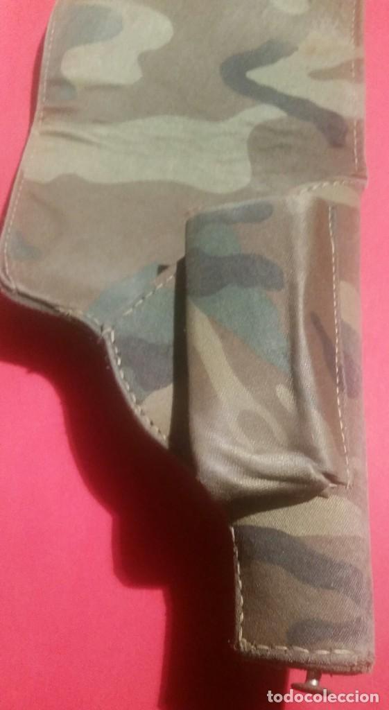 Militaria: Pistolera de confección de cuartel. Años 80-90. - Foto 4 - 277092413