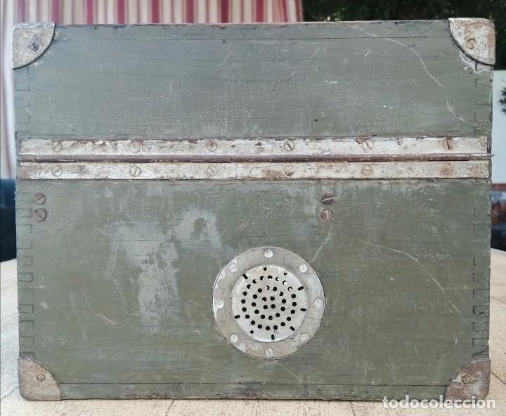 Militaria: Caja vacía telefono militar - Foto 3 - 277284213