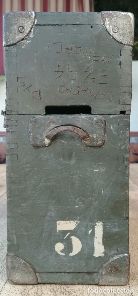 Militaria: Caja vacía telefono militar - Foto 6 - 277284213