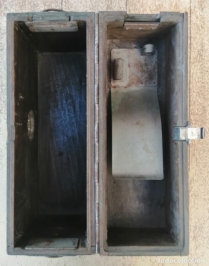 Militaria: Caja vacía telefono militar - Foto 9 - 277284213