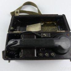 Militaria: ANTIGUO TELÉFONO MILITAR DE CAMPAÑA RUSO BÚLGARO TAP-67 MILITAR. Lote 285215538