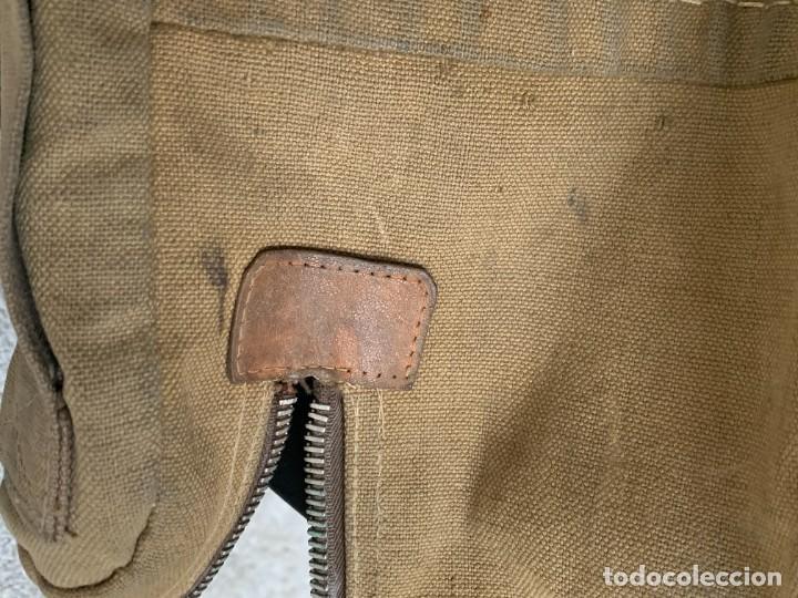 Militaria: BANDOLERA MILITAR O SIMILAR BOLSO CAMPAÑA 13X24X7CMS - Foto 8 - 287587738