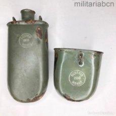 Militaria: CANTIMPLORA Y CAZO DEL EJÉRCITO AUSTROHÚNGARO DE LA 1ª GUERRA MUNDIAL.. Lote 296571708