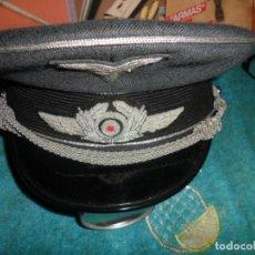 Militaria: GORRA ALEMANA,ALTA CALIDAD PERFETA TALLA 57. Lote 297019533