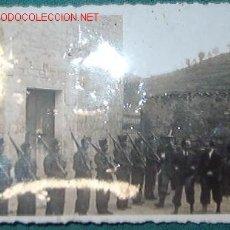 Militaria: FOTO DE UN GRUPO DE SOLDADOS, 8,5 X 6 CMS.. Lote 8663519
