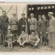 Militaria: (GUERRA CIVIL)FOTOGRAFIA DE AVIADORES COMANDANTE RAFAEL BOTANA. Lote 1390238