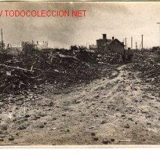 Militaria: FOTO DEL FRENTE DEL MARNE, O VERDÚN, RUINAS DE FLAVY LE ¿MARTEL?.. Lote 869432