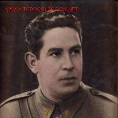 Militaria: FOTO ORIGINAL DE GRAN TAMAÑO DE TENIENTE NACIONAL GUERRA CIVIL ))). Lote 27354371