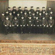 Militaria: ALEMANIA. BOMBEROS VOLUNTARIOS. 30 AÑOS. FABRICA GEBRÜDER OEHLER GREIZ. 1905-1935. III REICH.. Lote 23241297