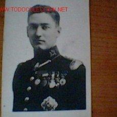 Militaria: FOTOGRAFIA DEL CAPITAN GARCIA HERNANDEZ. Lote 26744730