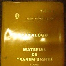 Militaria: CATALOGO DE MATERIAL DE TRANSMISIONES, 2ª PARTE, CON FOTOS. Lote 3281960
