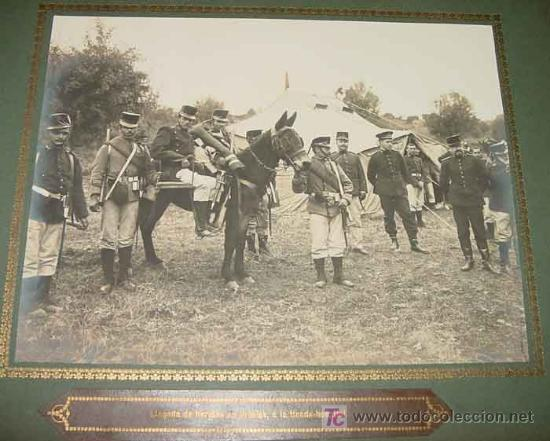 Militaria: ANTIGUO ALBUM FOTOGRAFICO DE 1910 - BRIGADA DE TROPA DE SANIDAD MILITAR ESPAÑOLA - FOTOGRAFIAS DE SU - Foto 2 - 26305665