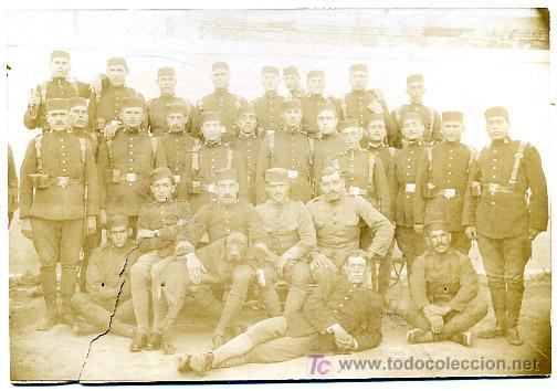 FOTO MILITAR, MILITARES, ANTIGUA,PARECE ALBUMINA , F92 (Militar - Fotografía Militar - Otros)