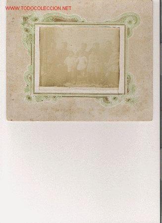 FOTO DE FAMILIA MILITAR SIGLO XIX - XX ¿CUBA? (Militar - Fotografía Militar - Otros)