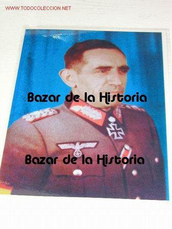 DIVISION AZUL - FOTO A COLOR DE AGUSTIN MUÑOZ GRANDES (Militar - Fotografía Militar - Otros)